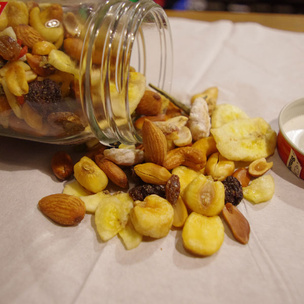 smoked mix nuts