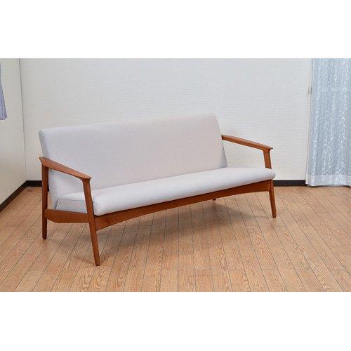 北欧デンマークビンテージ家具/UD7118/三人掛けソファ