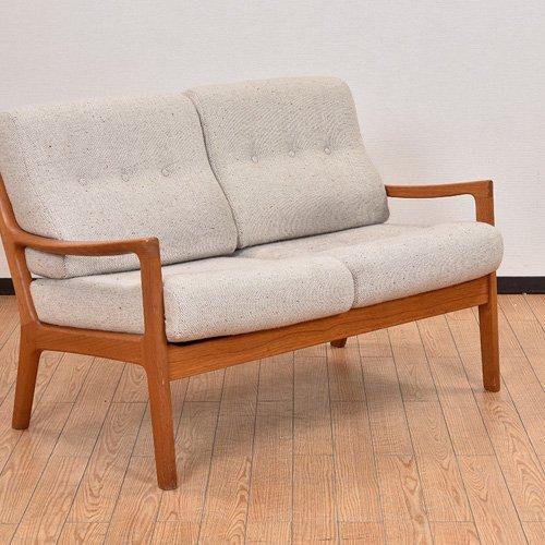 北欧デンマークビンテージ家具/UD7080/二人掛けソファ