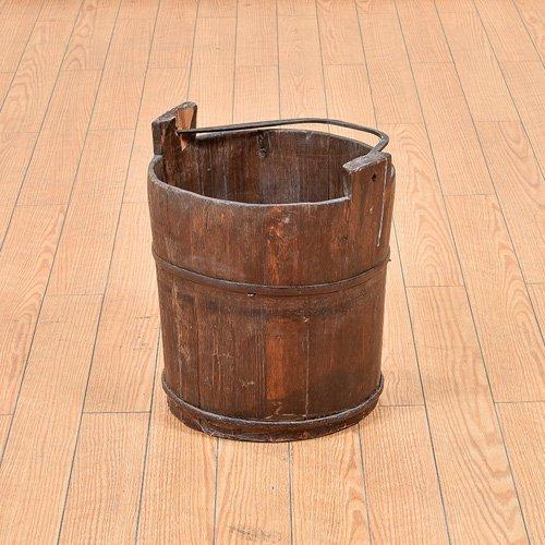 北欧デンマークビンテージ家具/UD7095/木桶