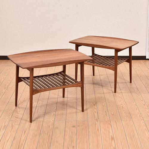 北欧デンマークビンテージ家具/UD7082/Tove & Edvard Kindt - Larsen/サイドテーブル