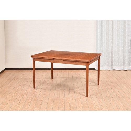 北欧デンマークビンテージ家具/UD7101/伸長式ダイニングテーブル