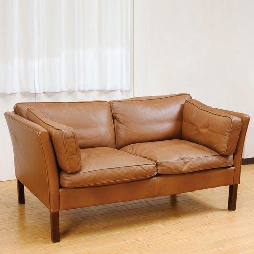 北欧デンマークのビンテージ家具/UD76/2人掛けソファ