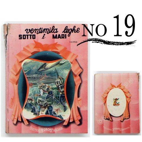 イタリア製洋古書 NO19 ディスプレイ用