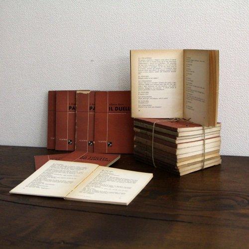 北欧家具アウトレット/イタリア製洋古書/ディスプレイ用 /限定20冊セット販売【A】