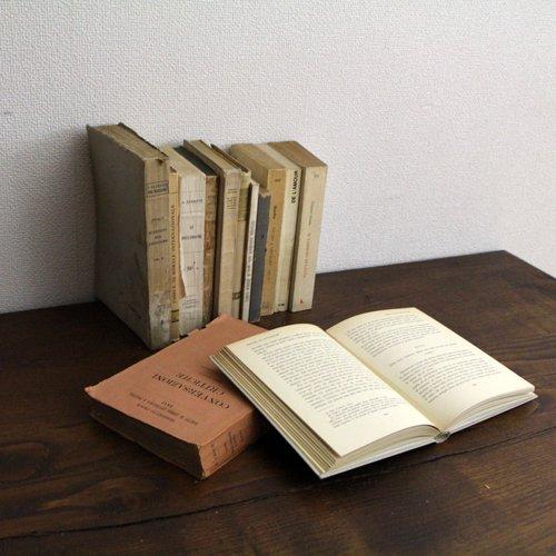 北欧家具アウトレット/イタリア製洋古書/ディスプレイ用 /限定12冊セット販売【B】
