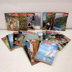 北欧家具アウトレット/イタリア製洋古書/ディスプレイ用 /24冊セット販売【F】/1960・62年号