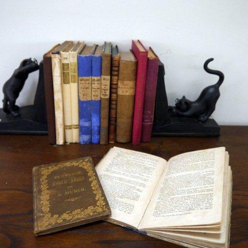 北欧家具アウトレット/イタリア製洋古書/ディスプレイ用 /限定13冊セット販売【K】