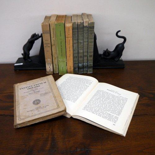北欧家具アウトレット/イタリア製洋古書/ディスプレイ用 /限定10冊セット販売【M】