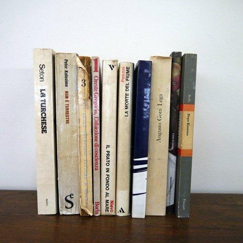 北欧家具アウトレット/イタリア製洋古書/ディスプレイ用 /限定10冊セット販売【L】