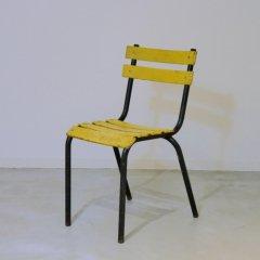 メタルチェア�(黄色)/UF/MDC1482