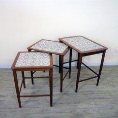 タイル付ネストテーブル/UD8032