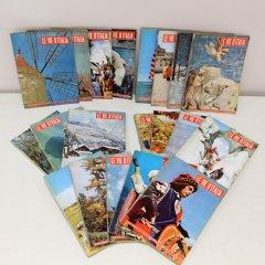 北欧家具アウトレット/イタリア製洋古書/ディスプレイ用 /20冊セット販売【G】/1958・59年号