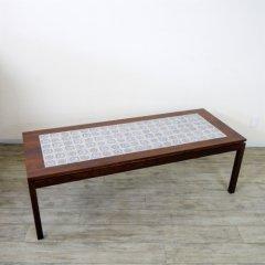 タイル付コーヒーテーブル/UD8045