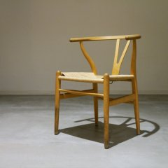 Hans j wegnre  Y Chair ビーチ)/Carl Hansen&Son /北欧デンマークのビンテージ家具/UD3052
