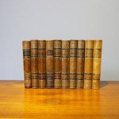 デンマーク洋古書「H.F.EWALD」シリーズ5冊セット�/UD6071