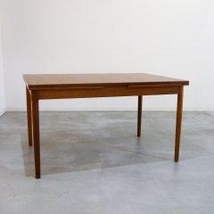 デザイナーズ/ドロップリーフダイニングテーブル(伸長式)(1300→ 1850 → 2400)/DT1718