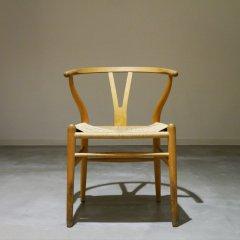 【2019/09/16までSALE】ウェグナー  Y Chair ビーチ)/カールハンセン /UD3052