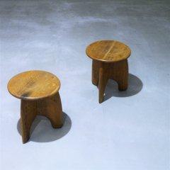 tripod stool�/オーク材