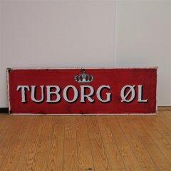 ツボルグビール看板/ウォールボード/R-TUBORG_OL