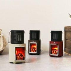 人感センサー付き 暖炉ヒーター/PR-WA010
