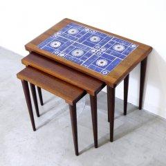 タイル付ネストテーブル|UD9187