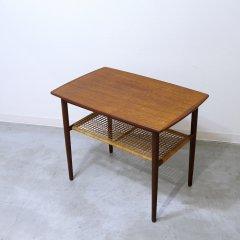 サイドテーブル/チーク&ラタン|UD9231