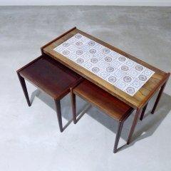 タイルトップ ネストテーブル|UD9162