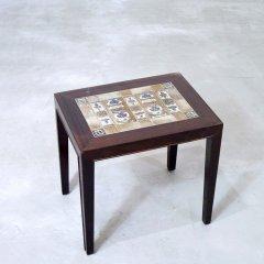 デザイナーズ|タイルトップ サイドテーブル/サヴァリン・ハンセンJr/BACA|UD9183-2