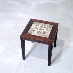 デザイナーズ|タイルトップ サイドテーブル/サヴァリン・ハンセンJr/BACA|UD9183-3