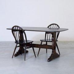 アーコール|レフェクトリーテーブル/オールドコロニアル|RW-W143/DB/2本