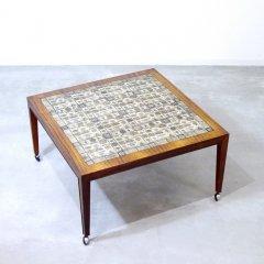 デザイナーズ|タイルトップ スクウェアテーブル/サヴァリン・ハンセンJr/BACA|UD9303