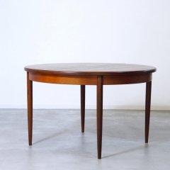 G-plan(ジープラン)|Fresco(フレスコ)/ラウンド伸長式ダイニングテーブル(幅1220⇒1675)/UU_DT2028