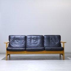 デザイナーズ|Model2453(BK#88)/3シーターソファ/ソーレン・ホルスト|UD-RW-3P