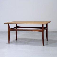 デザイナーズ|コーヒーテーブル/カール・エリック・エクセリウ/チーク|UD10077