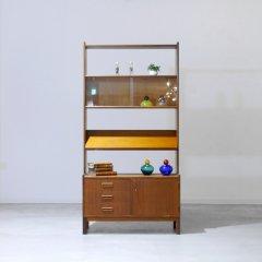 オープンキャビネット(ガラス扉)高さ:169cm|UD10023-2