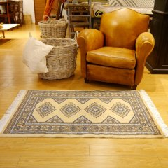 61x102cm|パキスタン手織り絨毯 / ムガール(BE) / 1点物