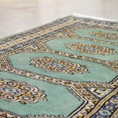 76x125cm|パキスタン手織り絨毯 / ムガールJ(GR) / 1点物