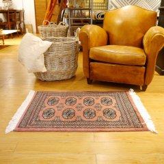 63x88cm|パキスタン手織り絨毯 / ムガール(RO) / 1点物