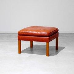 デザイナーズ|フットスツール Model.2202(レッド)�ボーエ・モーエンセン�|RW003