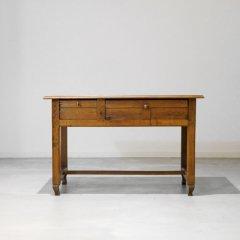 ワークテーブル(幅110cm) / デスク / オーク |DT2122