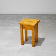 ソリッド スツール(パイン無垢)|STOOL1733