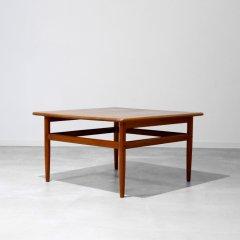 ブランド|ソリッドコーヒーテーブル / ニールス・バッハ / チーク無垢|UD6075