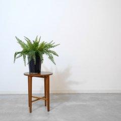 デザイナーズ|折り畳みサイドテーブル(幅38cm/チーク)ポール・ハンデバッド|ST1783-2