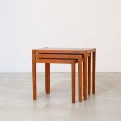 ネストテーブル(チーク)|UD10233