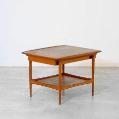 デザイナーズ|引出付リビングテーブル(幅75cm)/Kristiansen Thomassen|UD10356