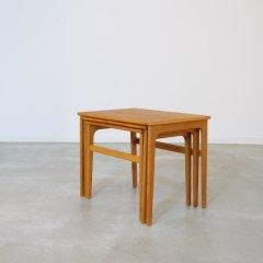 デザイナーズ|ネストテーブル(オーク)/エリック・ブロイヤー|UD10379