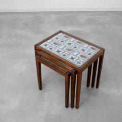ネストテーブル(タイルトップ)|UD10382