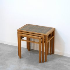 ネストテーブル(タイルトップ・オーク)|UD10424