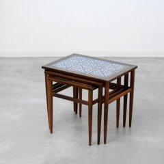 ネストテーブル(タイルトップ)|UD10427